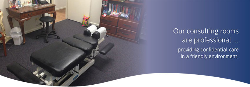 Goldfields Chiro Treatment Room